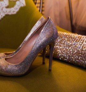 Туфли и сумочка для невесты