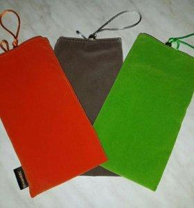 Универсальный Чехол сумка на застежке Color