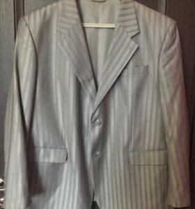 Мужской костюм, размер 62, рост 185+брюки