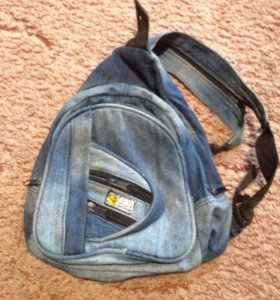 Сумка детская джинсовая