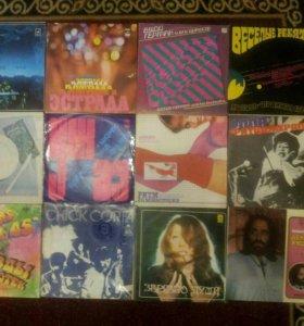Пластинки виниловые 70, 80-х.