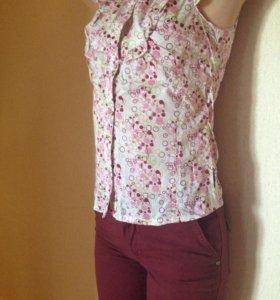 Блузка и брюки для девочки