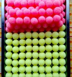 Скраб для тела : сахарные шарики