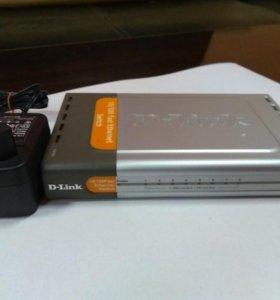 Свич D-Link DES-1008D, 8-портовый, 10/100 мбит
