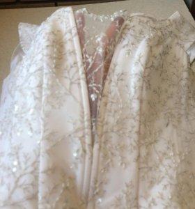 Корсет от свадебного платья
