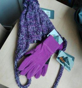 Новые шапка и перчатки