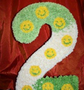 Цифра 2 на день рождения ребёнка