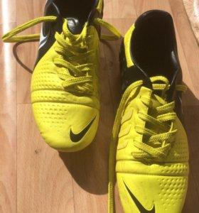 Nike CTR360 Maestri III FG Cleats - Yellow/Black