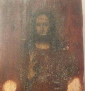 икона Иисуса Христа 16-17век.