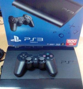 Игровая консоль Sony PS3 CECH-4208C 500Gb