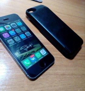 iPhone 5s с флешкой 64гб