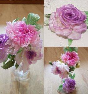 Делаю цветы на заказ.