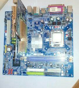 Gigabyte GA-8S661FXM + intel pentium 4 3.20+AGP