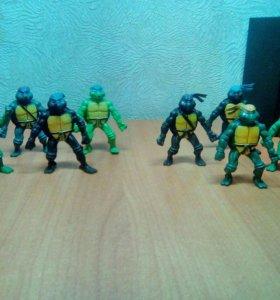 Игрушки черепашки-ниндзя