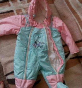 Детский комбинезон 0-9 месяцев