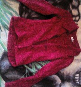 Приталенный свитер