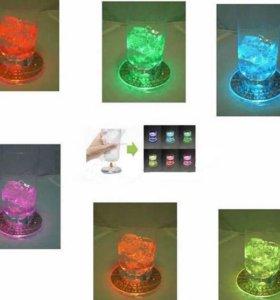 LED подставка под стакан тип3