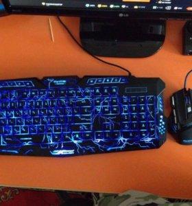 Клавиатура-мышь игровые