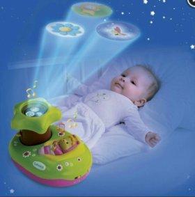 Музыкальный ночник-проектор Smoby