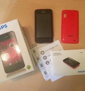 Смартфон Philips w536 полный комплект