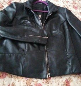Куртка. натуральная мягкая кожа .