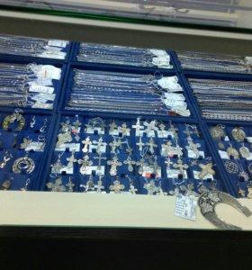 Распродажа серебряных украшений