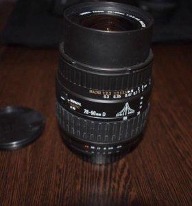 Объектив Sigma 28-90mm F/3.5-5.6 Aspherical Macro