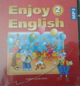 Диск к учебнику английского