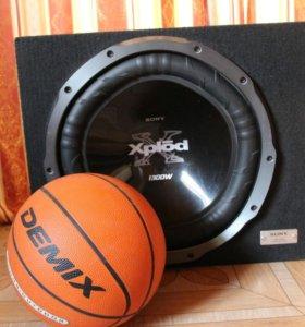 Мощный Автомобильный сабвуфер XS-GTX150LE