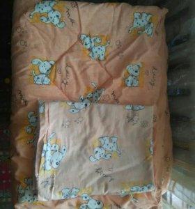 Одеяло+пододеяльник