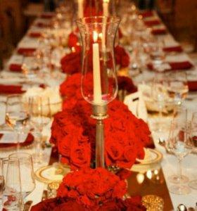 Свадьбы, праздники, корпоративы под ключ!