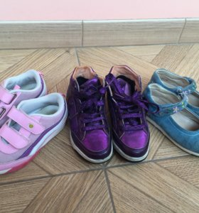 Обувь д/д 28, 29, 30 р-ры. Geox, Naturino