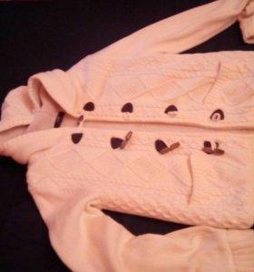 Куртка -кофта вязаная OODJI