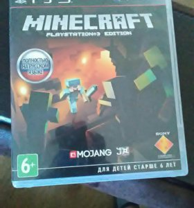 Minecraft edition на ps3