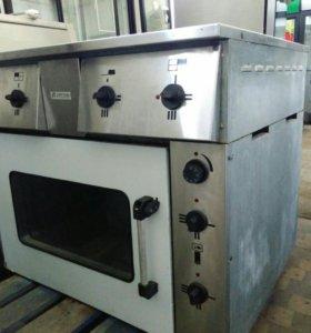 Плита 4-х комфорочная с жарочным шкафом
