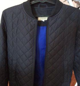 Стеганая куртка-бомбер Devo