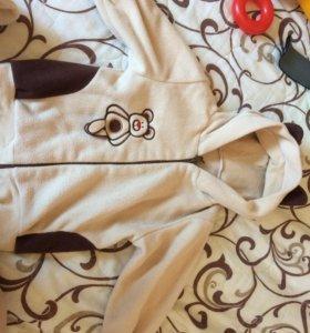 Детский флисовый костюмчик