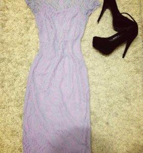 Платье и туфли на выпускной