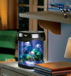 Аквариум Discovery Kids Jelly Fish Лампа