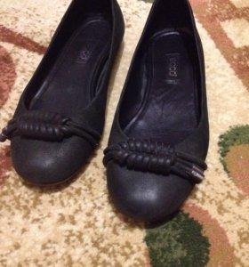Балетки (туфли) демисезонные Ecco