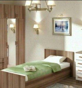Кровать с матрасом НОВАЯ!