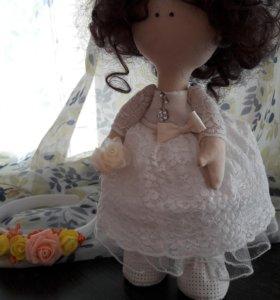 кукла ручной работы. кукла невеста