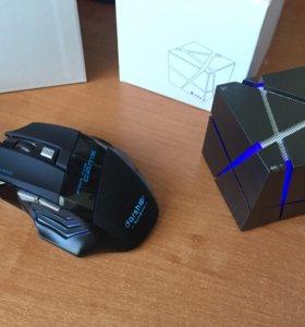 Игровая мышка и Bluetooth Колонка