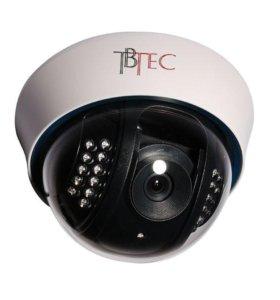 Новая Купольная видеокамера tbtec TBC-A2485IR