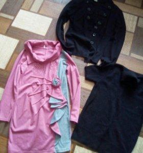 Кофты и детское платье