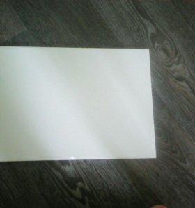 Плитка белая глянцевая