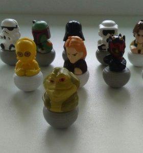 Фигурки героев из Звездных войн