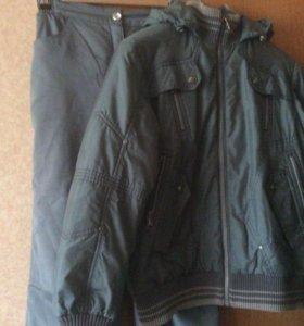Костюм(куртка и брюки)на мальчика р.152-158