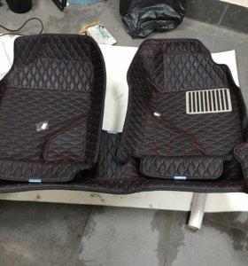 3D коврики Corolla Fielder