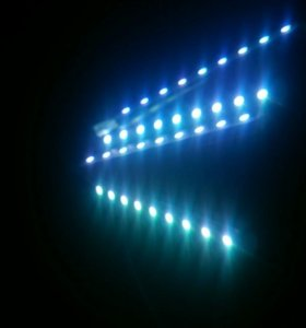 Подсветка салона RGB.